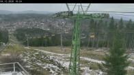 Archiv Foto Webcam Bocksberg: Bergstation Seilbahn 04:00