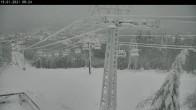 Archiv Foto Webcam Bocksberg: Bergstation Seilbahn 08:00