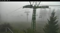 Archiv Foto Webcam Bocksberg: Bergstation Seilbahn 02:00