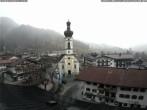 Archiv Foto Webcam Dorfzentrum Reit im Winkl 08:00