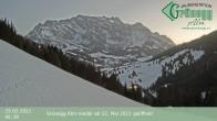 Archiv Foto Webcam Hochkönig Dienten: Grünegg Alm 00:00
