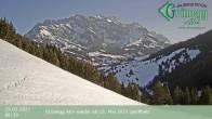 Archiv Foto Webcam Hochkönig Dienten: Grünegg Alm 02:00