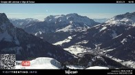 Archiv Foto Webcam Bergstation Buffaure - Vigo di Fassa 08:00