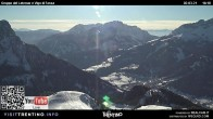Archiv Foto Webcam Bergstation Buffaure - Vigo di Fassa 10:00