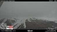 Archiv Foto Webcam Bergstation Buffaure - Vigo di Fassa 04:00