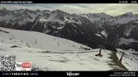 "Archiv Foto Webcam Fassatal - Buffaure - rote Piste ""Valvacin B"" 08:00"