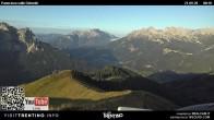 Archiv Foto Webcam Fassatal - Vigo di Fassa 02:00