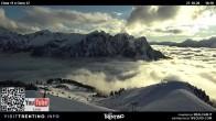 Archiv Foto Webcam Fassatal - Col de Valvacin 11:00