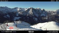 Archiv Foto Webcam Fassatal - Col de Valvacin 02:00