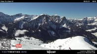 Archiv Foto Webcam Fassatal - Col de Valvacin 04:00