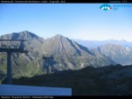 "Archived image Webcam Monterosa - panoramic view from the ""Sarezza pass"" 02:00"