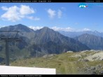 "Archived image Webcam Monterosa - panoramic view from the ""Sarezza pass"" 06:00"