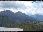 "Archived image Webcam Monterosa - panoramic view from the ""Sarezza pass"" 08:00"
