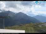 "Archived image Webcam Monterosa - panoramic view from the ""Sarezza pass"" 10:00"