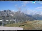 "Archiv Foto Webcam Monterosa - Panorama vom ""Sarezza Pass"" 02:00"