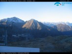 """Archived image Webcam Monterosa - panoramic view from the """"Sarezza pass"""" 02:00"""