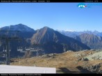 """Archived image Webcam Monterosa - panoramic view from the """"Sarezza pass"""" 04:00"""