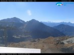 """Archived image Webcam Monterosa - panoramic view from the """"Sarezza pass"""" 08:00"""