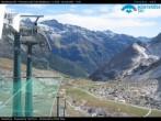 """Archiv Foto Webcam Monterosa - Panorama des """"Bettaforca Pass"""" 08:00"""