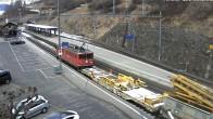 Archived image Webcam train station of Filisur 07:00