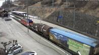 Archived image Webcam train station of Filisur 11:00