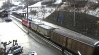 Archived image Webcam train station of Filisur 13:00