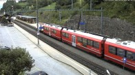 Archiv Foto Webcam Bahnhof in Filisur 00:00