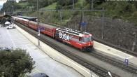 Archiv Foto Webcam Bahnhof in Filisur 02:00