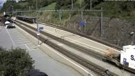 Archiv Foto Webcam Bahnhof in Filisur 04:00