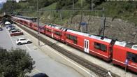 Archiv Foto Webcam Bahnhof in Filisur 06:00