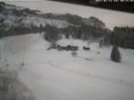 Archiv Foto Webcam Blick auf die Talabfahrt der Skilifte Bumbach - Schnagnau 02:00