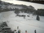 Archiv Foto Webcam Blick auf die Talabfahrt der Skilifte Bumbach - Schnagnau 04:00