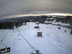 Archiv Foto Webcam Blick auf die Bergstation Lischboden im Skigebiet Rüschegg 02:00