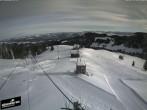 Archiv Foto Webcam Blick auf die Bergstation Lischboden im Skigebiet Rüschegg 04:00