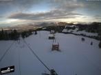 Archiv Foto Webcam Blick auf die Bergstation Lischboden im Skigebiet Rüschegg 10:00
