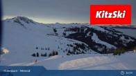 Archiv Foto Webcam Mittersill: Bergstation Panoramabahn - Resterhöhe 19:00
