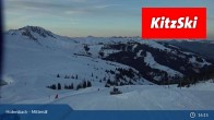 Archiv Foto Webcam Mittersill: Bergstation Panoramabahn - Resterhöhe 13:00