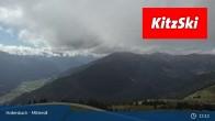 Archiv Foto Webcam Kitzbühel: Bergstation Panoramabahn - Resterhöhe 07:00