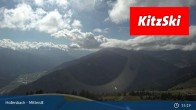 Archiv Foto Webcam Kitzbühel: Bergstation Panoramabahn - Resterhöhe 09:00