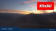 Archiv Foto Webcam Kitzbühel: Bergstation Panoramabahn - Resterhöhe 13:00