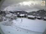Archiv Foto Webcam Sibratsgfäll: Blick aufs Dorf 02:00