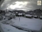 Archiv Foto Webcam Sibratsgfäll: Blick aufs Dorf 04:00