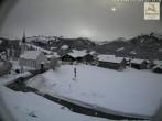 Archiv Foto Webcam Sibratsgfäll: Blick aufs Dorf 06:00