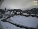Archiv Foto Webcam Sibratsgfäll: Blick aufs Dorf 08:00