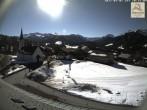 Archiv Foto Webcam Sibratsgfäll: Blick aufs Dorf 09:00