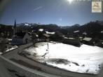 Archiv Foto Webcam Sibratsgfäll: Blick aufs Dorf 11:00