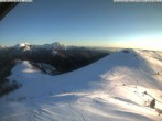 Archiv Foto Webcam Ausblick vom Monte Marca 02:00