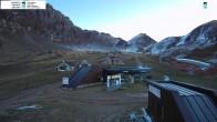Archiv Foto Webcam Bergstation des Sessellifts 02:00