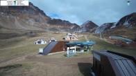 Archiv Foto Webcam Bergstation des Sessellifts 08:00