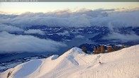 Archived image Webcam Mountain station of the Chabrières chair lift 02:00
